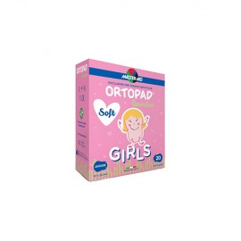 Ortopad Soft Girls Cerotti Junior 20 Pezzi
